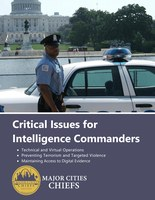 MCCA Intelligence Commander Group Critical Issues Series