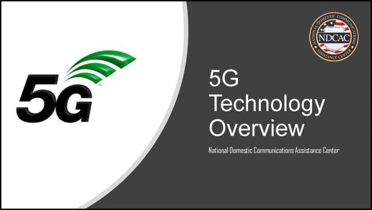 5G Overview Title Slide