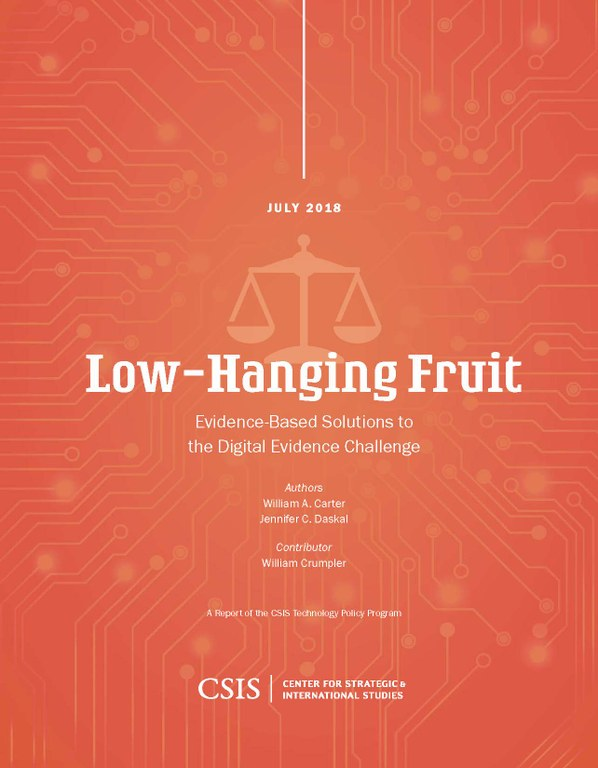 Low Hanging Fruit Carter Report Main Page