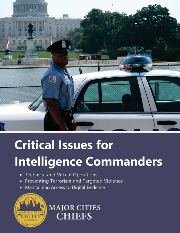 Critical Issues for Intelligence Commanders Main Page
